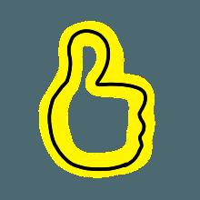 StylishNeonCuteMark messages sticker-11
