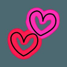 StylishNeonCuteMark messages sticker-2
