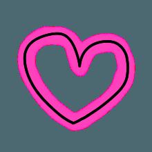 StylishNeonCuteMark messages sticker-1