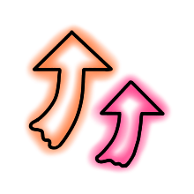 StylishNeonCuteMark messages sticker-7