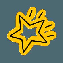 StylishNeonCuteMark messages sticker-5