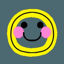 StylishNeonCuteMark messages sticker-0
