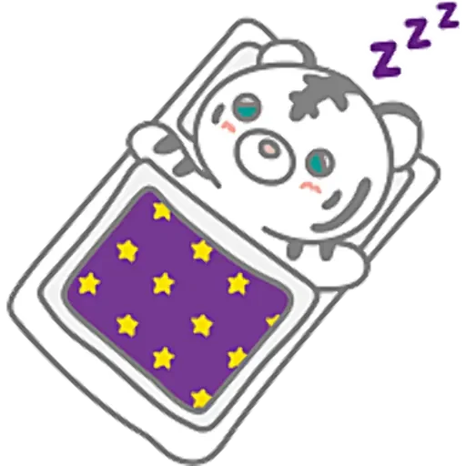 eA white tiger messages sticker-10