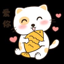 喵喵小猫——短信聊天表情包 messages sticker-2