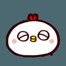 WhiteBirdEmoji messages sticker-7