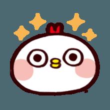 WhiteBirdEmoji messages sticker-6