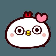 WhiteBirdEmoji messages sticker-1