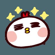 WhiteBirdEmoji messages sticker-4