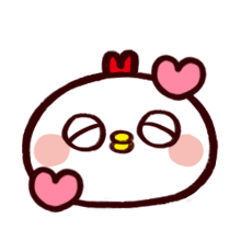 WhiteBirdEmoji messages sticker-3