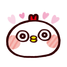 WhiteBirdEmoji messages sticker-2
