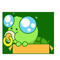 GreenTurtle-Sticker messages sticker-0