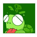 GreenTurtle-Sticker messages sticker-6