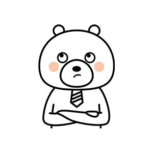 Funny little white bear messages sticker-0