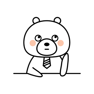Funny little white bear messages sticker-10