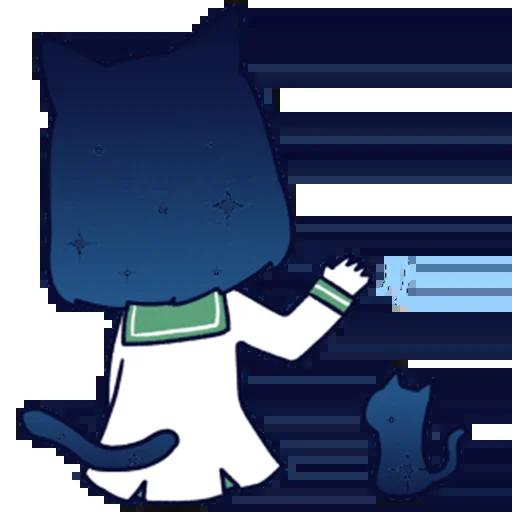 猫耳少女 messages sticker-1