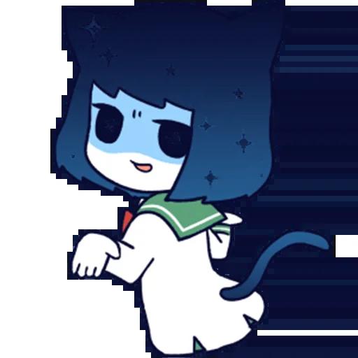 猫耳少女 messages sticker-6