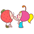 Ceriand Strawbi messages sticker-9