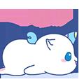unicorno - Sticker messages sticker-10