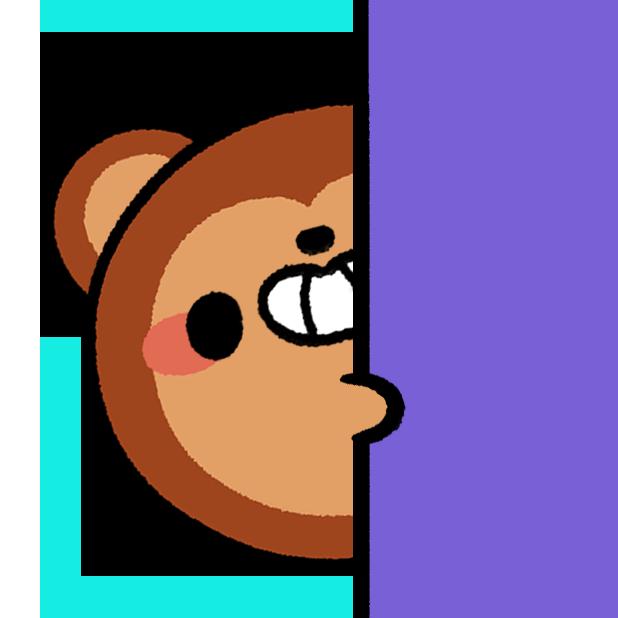 Monkey Roll: Kawaii Climb messages sticker-6