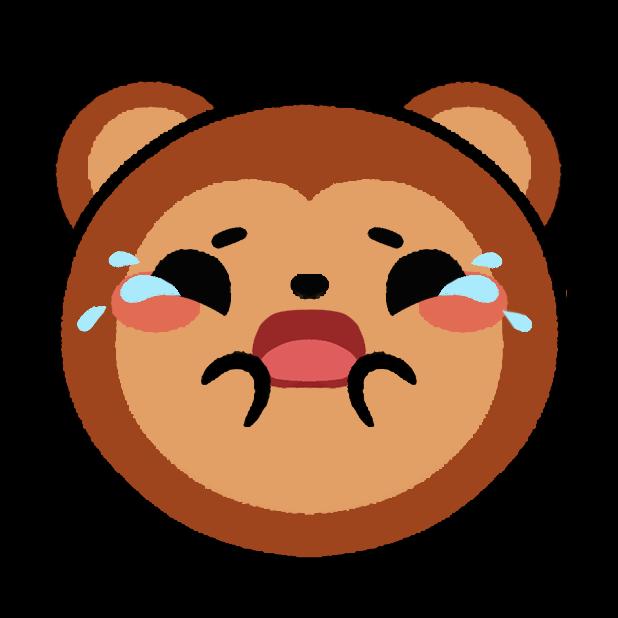 Monkey Roll: Kawaii Climb messages sticker-10