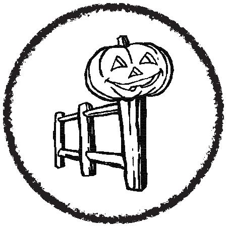 Creepy Halloween - Stickers messages sticker-11
