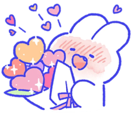 LovingRabbit messages sticker-2