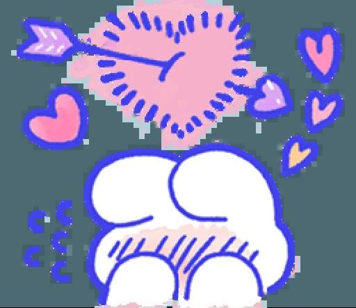 LovingRabbit messages sticker-4