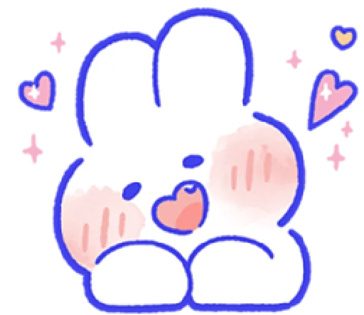 LovingRabbit messages sticker-5