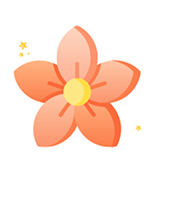 Cute flower Sticker messages sticker-7