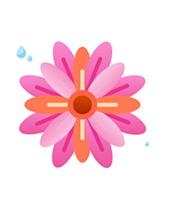 Cute flower Sticker messages sticker-10