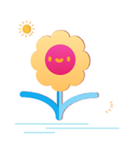 Cute flower Sticker messages sticker-2
