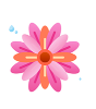 Cute flower Sticker messages sticker-9