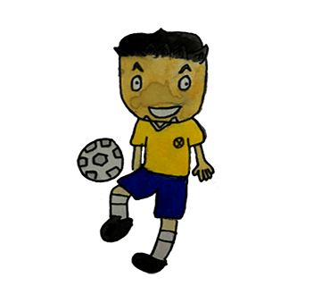 Handsome football players messages sticker-3