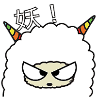 Colorful claws bleating messages sticker-1