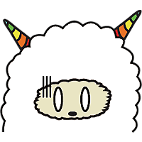 Colorful claws bleating messages sticker-5