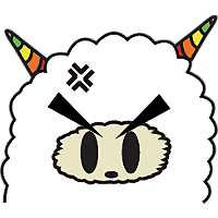 Colorful claws bleating messages sticker-9