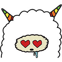Colorful claws bleating messages sticker-3
