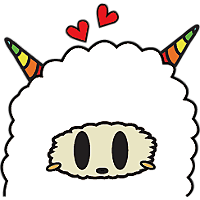 Colorful claws bleating messages sticker-11
