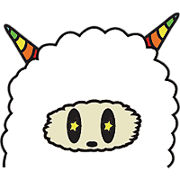 Colorful claws bleating messages sticker-4