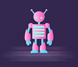 The robot Polly Sticker messages sticker-10