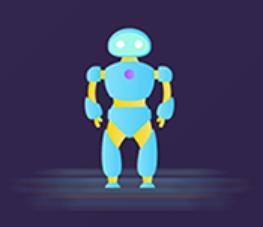 The robot Polly Sticker messages sticker-6