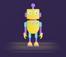 The robot Polly Sticker messages sticker-9