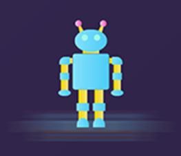 The robot Polly Sticker messages sticker-8
