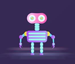 The robot Polly Sticker messages sticker-2