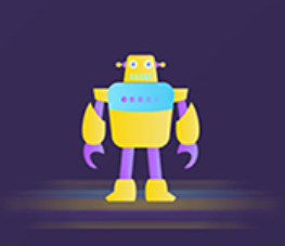 The robot Polly Sticker messages sticker-1
