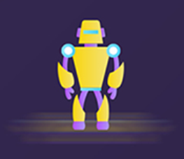 The robot Polly Sticker messages sticker-5