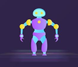 The robot Polly Sticker messages sticker-7
