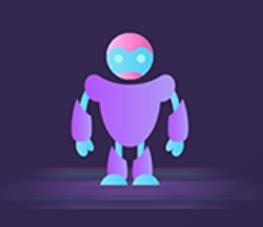 The robot Polly Sticker messages sticker-4