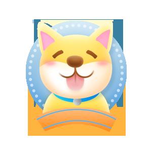Dog&Cat Mood messages sticker-1