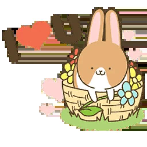 Donut Bunny Sticker messages sticker-7